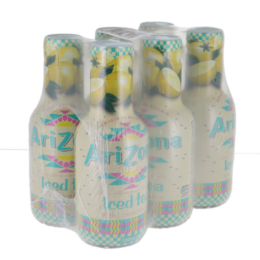 Afbeeldingen van ARIZONA LEMON ICED TEA 6X500ML