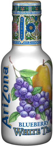Afbeeldingen van ARIZONA BLUEBERRY WHITE TEA 500ML