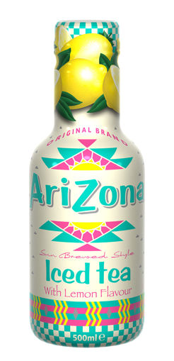Afbeeldingen van ARIZONA LEMON ICED TEA 500ML