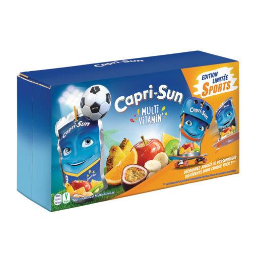 Afbeeldingen van CAPRI-SUN MULTI VITAMIN POUCH 10X20CL