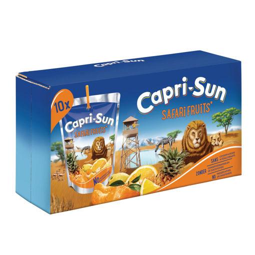 Afbeeldingen van CAPRI-SUN SAFARI FRUITS POUCH 10X20CL