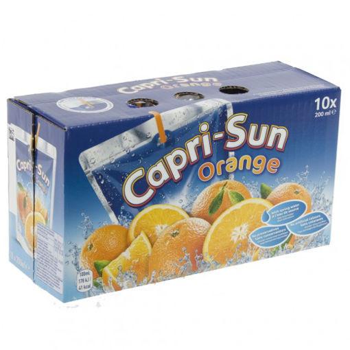 Afbeeldingen van CAPRI-SUN ORANGE 20 CL 10 STUKS