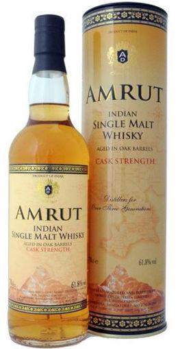 Afbeeldingen van AMRUT SINGLE MALT CASK STRENGTH 61.8%